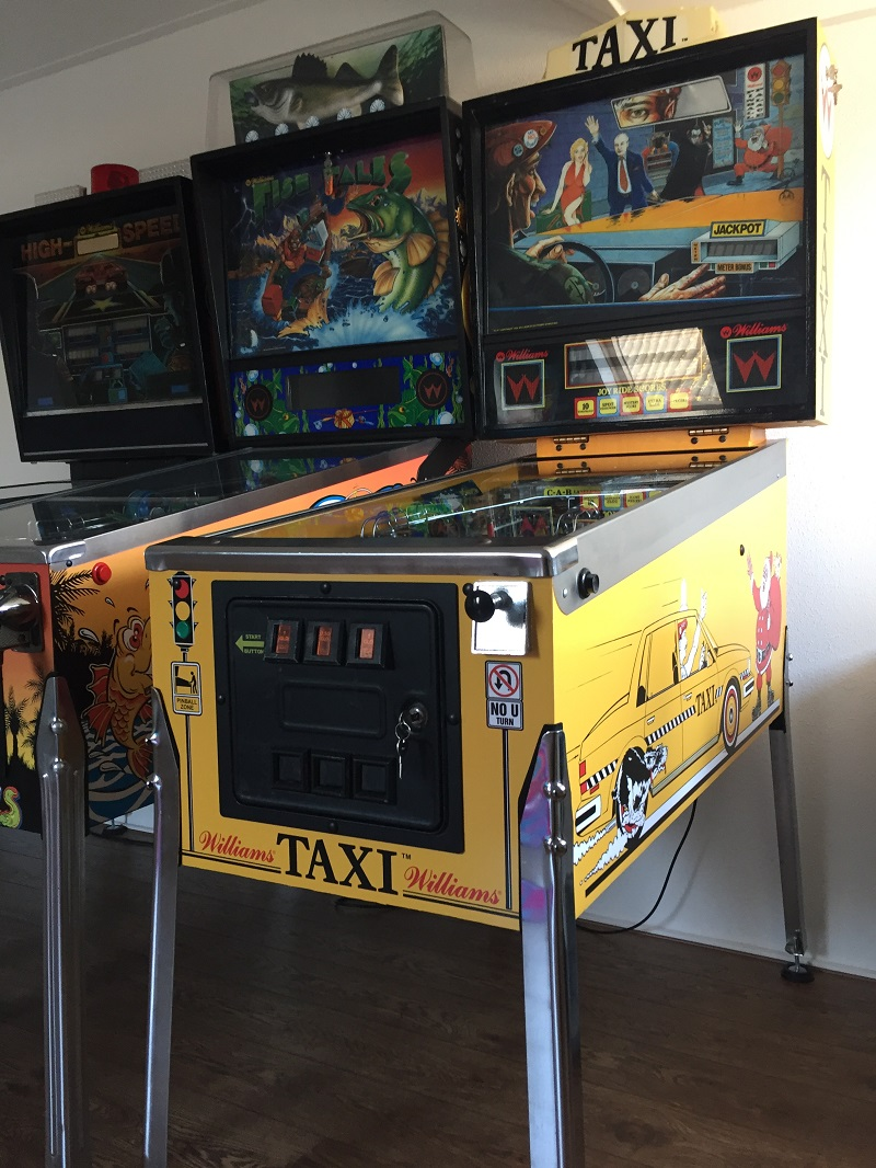 Taxi Pinball restaurated