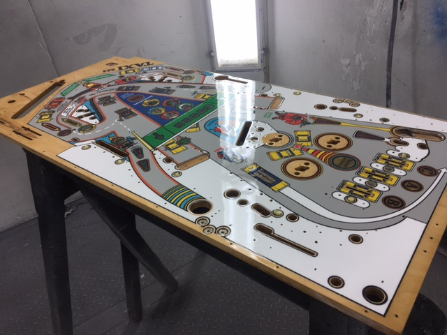 Taxi playfield