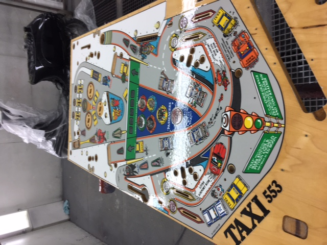 clearcoat taxi playfield
