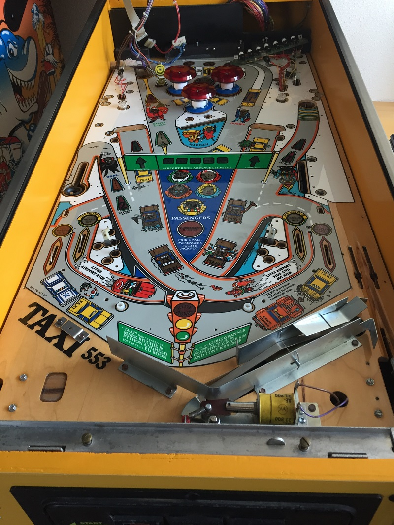 playfield in cab